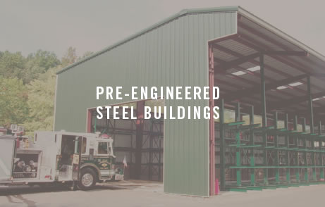 LBM storage solutions pre-engineered steel building
