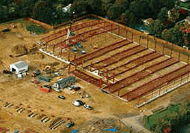 View of CT Darnell construction site