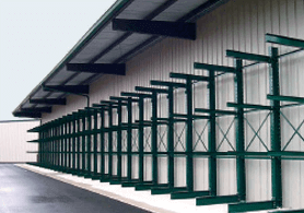 Structural Steel I Beam Cantilever Racks Sunbelt Rack 174