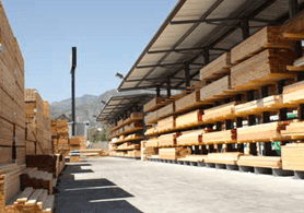 bulk storage buildings for LBM materials
