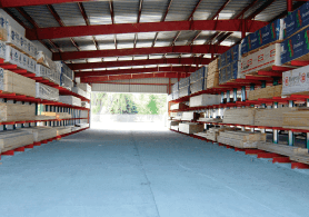custom designed lbm storage building