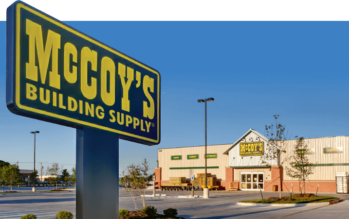 Mccoy S Building Supply History